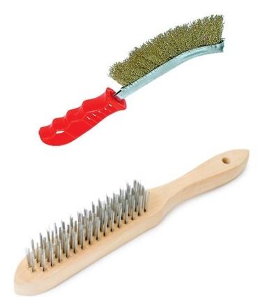 Ручные металлические щетки для браширования дерева
