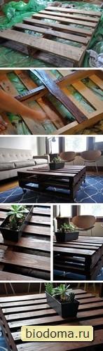 Уже надоели эти столики, но просто посмотрите, как они смотрятся в разных интерьерах...