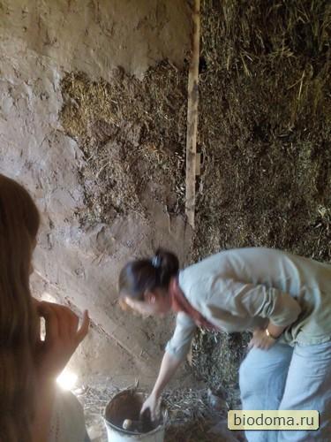 Жена и глиняная штукатурка, акт 2.